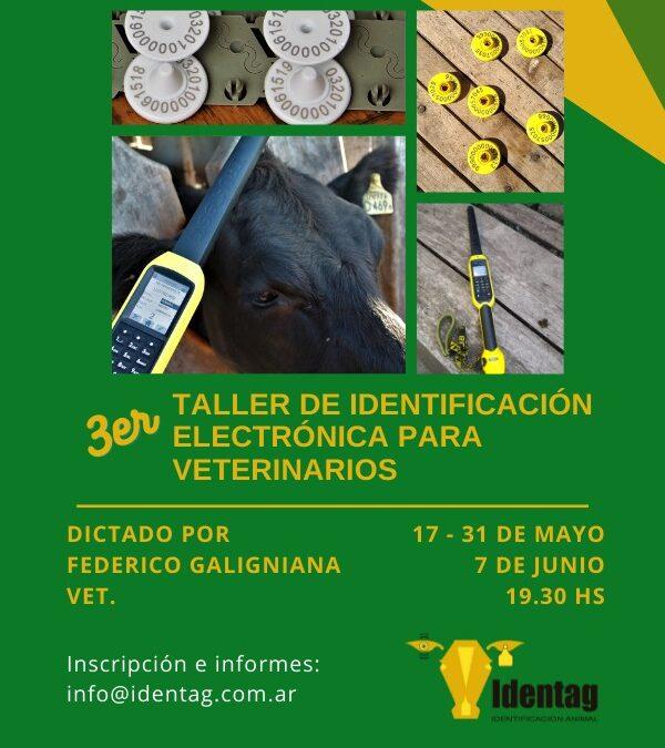 Taller de Identificación Electrónica para Veterinarios